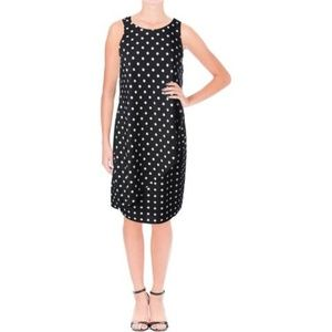 NWT Lauren Ralph Lauren Polka Dot Dress